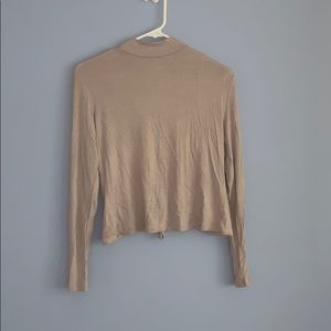 Charlotte Russe turtle neck long sleeve.